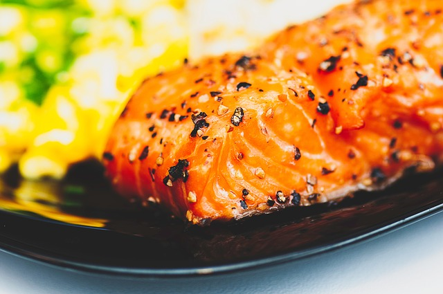 salmon with orange glaze diet recipes